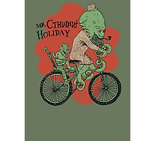 Mr. Cthulhu's Holiday Photographic Print