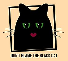 DON'T BLAME THE BLACK CAT by Jean Gregory  Evans