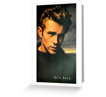 JAMES DEAN THE LEGEND Greeting Card