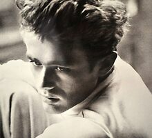 JAMES DEAN BLACK AND WHITE by JAYMILO