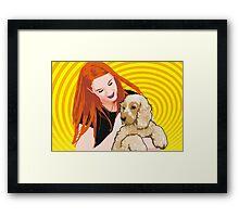 Kirsty and Brandie Framed Print