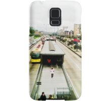 The mobility of the city. Samsung Galaxy Case/Skin
