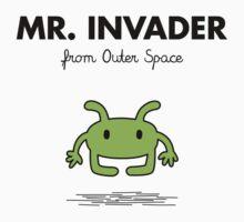 Mr. Invader Kids Clothes