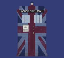 Union Jack Police Box by ThisIsFootball