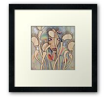 Dionaea (Venus Fly Trap) Framed Print