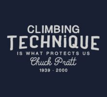 Climbing Technique Is What Protects Us by SportsT-Shirts
