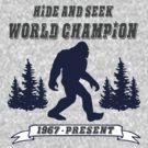 Hide and Seek World Champion by Tim Miklos