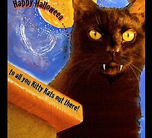 Happy Halloween to all you Kitty Kats . . . . .  by evon ski