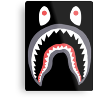Bape Shark Metal Print