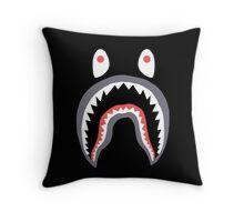Bape Shark Throw Pillow