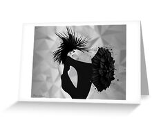 lady d 2 Greeting Card