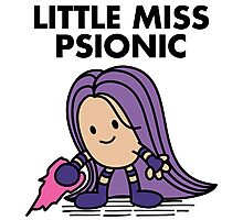 Little Miss Psionic Photographic Print