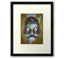 Dude Framed Print
