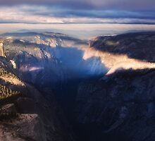 Half Dome in the morning by Hotaik  Sung