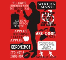Doctor Who - 11th Doctor Quotes Kids Clothes