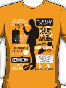Doctor Who - 11th Doctor Quotes T-Shirt