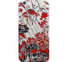 My Red Geraniums iPhone Case/Skin