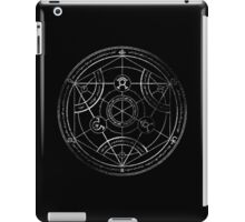 Human transmutation circle - chalk iPad Case/Skin