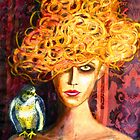 "Lady Hawk by Belinda ""BillyLee"" NYE (Printmaker)"