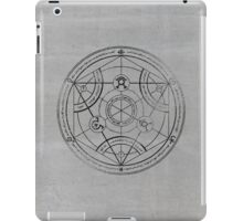 Human transmutation circle - charcoal iPad Case/Skin