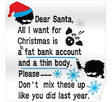 Funny new year resolutions Poster