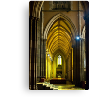Yellow Arches Canvas Print
