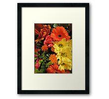 Autumn Bouquet (2014) Framed Print