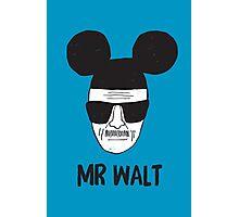 Mr. Walt Photographic Print