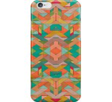 Aztek surface pattern iPhone Case/Skin