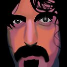 Frank Zappa by Cliff Vestergaard