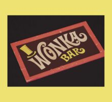Charlie and the chocolate factory wonka bar Kids Clothes