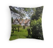 Old English Helmsley Throw Pillow