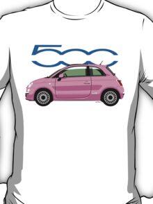 New Fiat 500 pink T-Shirt