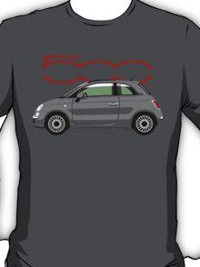 New Fiat 500 grey T-Shirt