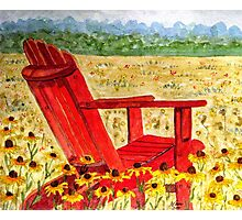 Meet Me In The Meadow Photographic Print