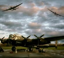 The Avro Lancaster Trio by UKGh0sT