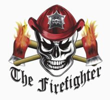 Firefighter Skull 4.1 Kids Clothes