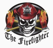 Firefighter Skull 4.2 Kids Clothes