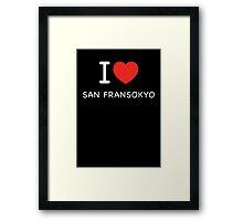 San Fransokyo Bl Framed Print