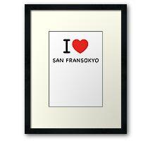 San Fransokyo Framed Print