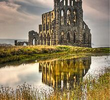 WHITBY ABBEY by Peter Sutton