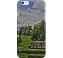 Prior Park, Bath, in miniature by Tim Constable iPhone Case/Skin