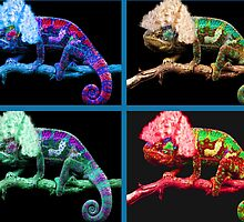 Warhol's Chameleon painting  by ppantelas