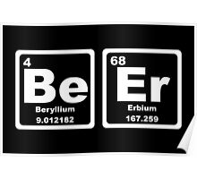Beer - Periodic Table Poster