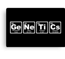 Genetics - Periodic Table Canvas Print