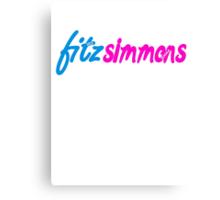 Fitz Simmons Canvas Print