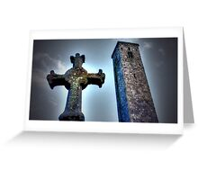 St Andrews Cross Greeting Card