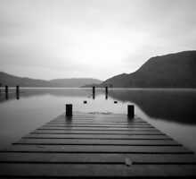 Jetty, Ullswater, The English Lake District by Matthew Walters