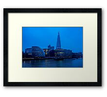 Early Morning River Thames View Framed Print
