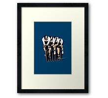 Cycling Team Pursuit Framed Print